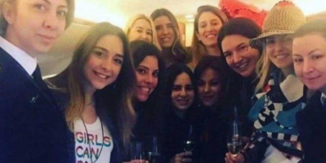 Mueren 11 mujeres al estrellarse jet privado