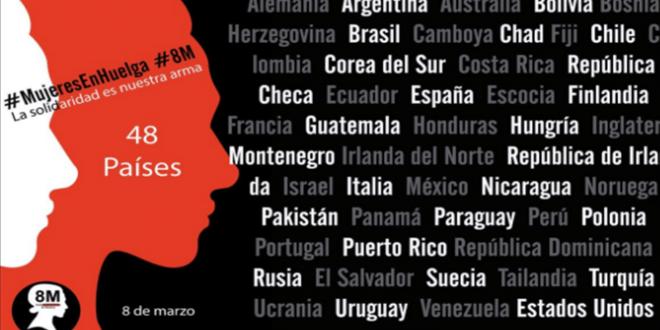 Paro Internacional de Mujeres para protestar contra la desigualdad