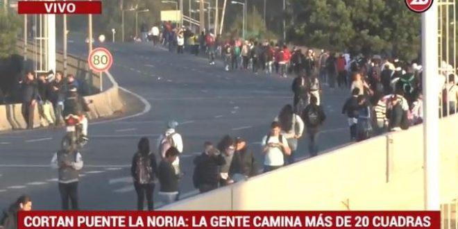 Se levantó el piquete en Puente La Noria