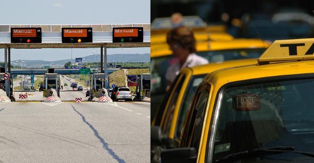 Suben las tarifas de peajes y taxis porteños