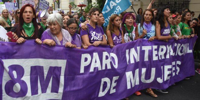 Dónde y cuándo serán los cortes de calles por la marcha del #8M