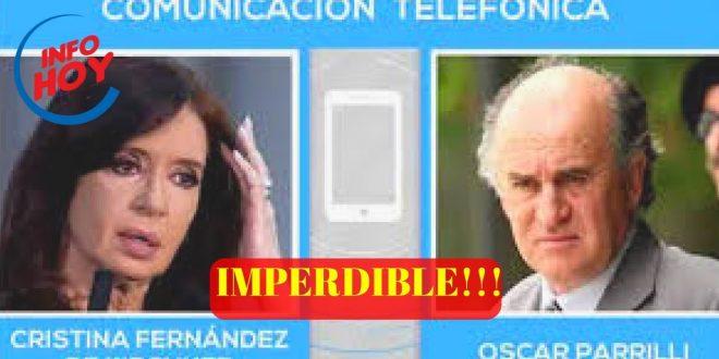 Audios: Nuevas escuchas entre Cristina Kirchner y Oscar Parrilli