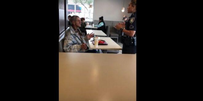 Video: Un cliente fue expulsado de un local de McDonald's después de comprar comida para una persona sin hogar.