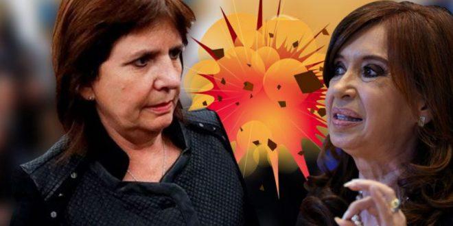"Nuevas escuchas de Cristina Kirchner sobre Bullrich: ""la voy a matar, hija de p..."""