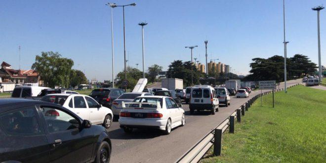 Caos de tránsito en la General Paz, más de una hora de demora