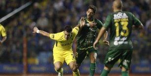 Boca perdió frente a Defensa y Justicia por 2-1