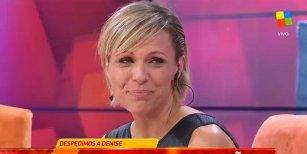 Denise Dumas se despidió de la conducción de Infama
