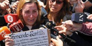 Desesperado pedido de la esposa de un tripulante del ARA San Juan