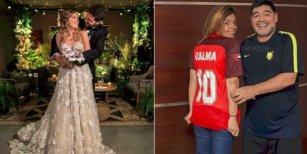 Diego Maradona habló de su ausencia en la boda de su hija Dalma y le envió un mensaje