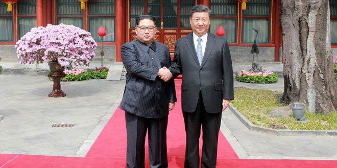 EEUU califica el encuentro entre China y Corea del Norte: como un paso histórico