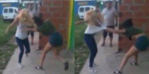 Grabaron a dos mujeres en una feroz pelea y una de ellas murió acuchillada