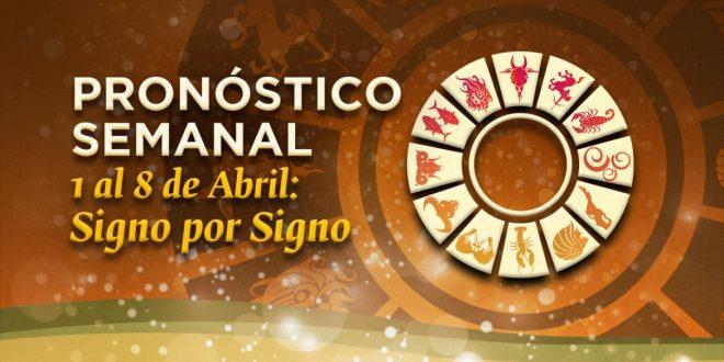 Horóscopo: signo por signo, del 1 al 8 de abril