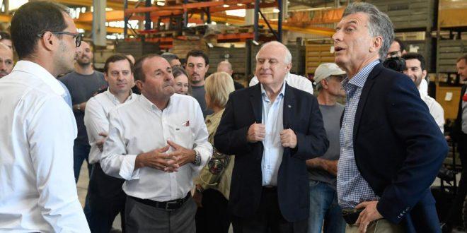 Macri encabezó la presentación de la Mesa de Maquinaria Agrícola