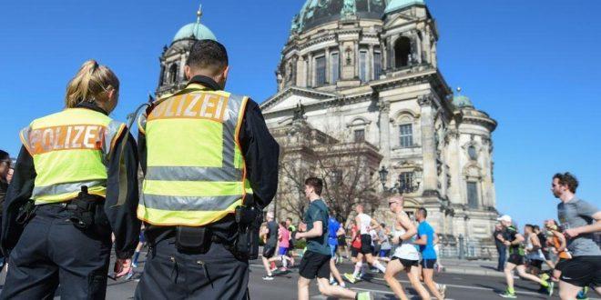 Policía alemana frustra ataque contra medio maratón en Berlín