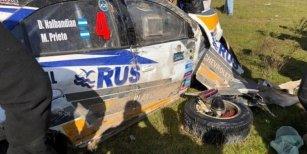 Terrible accidente de David Nalbandian en el Rally Argentino
