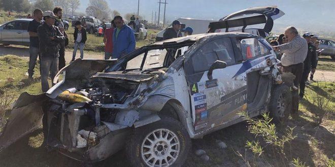 Tremendo accidente de David Nalbandian en Rally Argentino