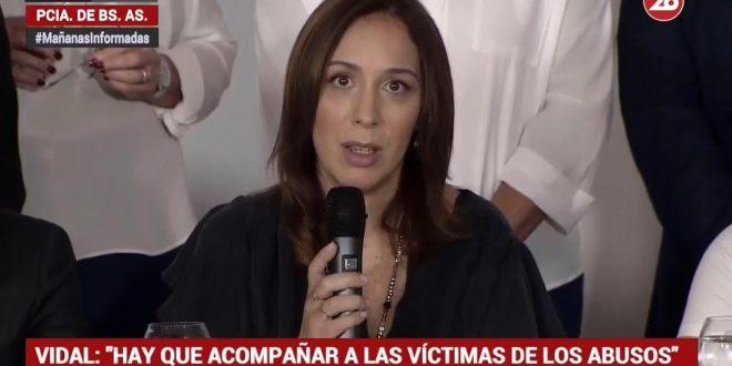 Vidal: El Estado no puede mirar para otro lado cuando en la Justicia siguen pasando cosas injustas