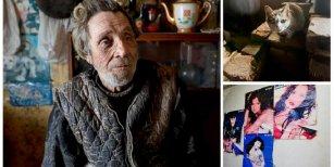 Vive aislado en un pueblo fantasma con su gata y acompañado de Natalia Oreiro