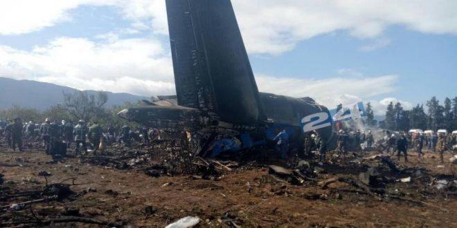 más de 250 muertos tras accidente de avión militar en Argelia