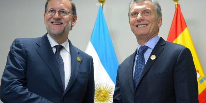 """Macri con Rajoy : """"Claramente tenemos un camino común"""""""
