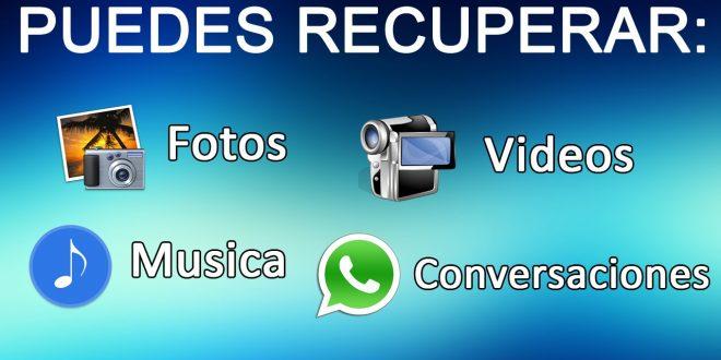 Cómo se puede recuperar una foto o video borrado de WhatsApp