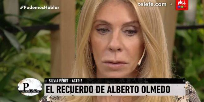 """Silvia Pérez: """"Con el negro Olmedo terminamos la noche antes de su muerte"""""""