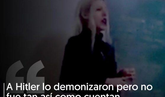 La profesora del video neonazi era bailarina de un show erótico de burlesque sangriento