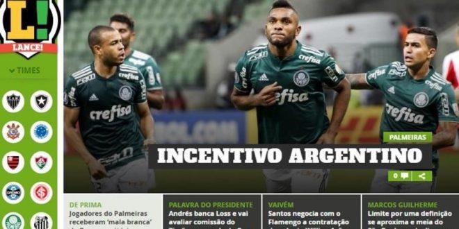Denuncian que Boca pagó a los jugadores del Palmeiras 350 mil dólares para ganarle a Junior
