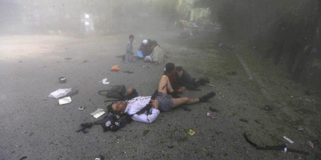 Doble atentado de ISIS en Kabul