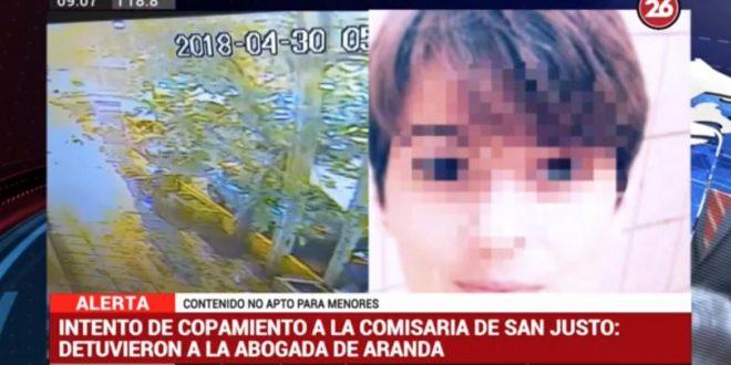 La abogada de Aranda fue detenida acusada de ingresar celular a la celda posibilitando el ataque a la comisaria