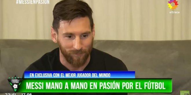 """Messi: """"La gente tiene que ser realista, Argentina no es candidata"""""""