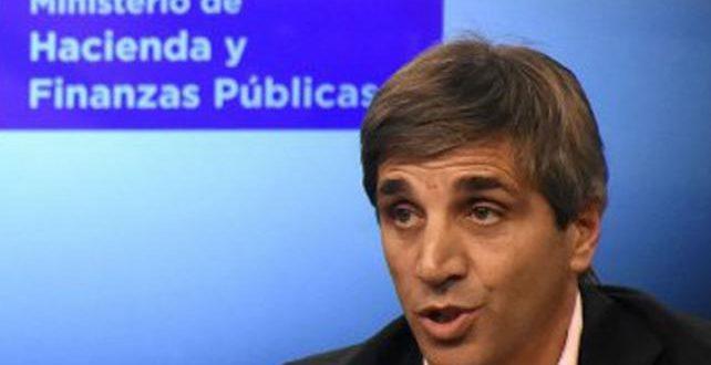 """Luis Caputo: """"Macri tendrá financiamiento del FMI por el resto de su mandato"""""""