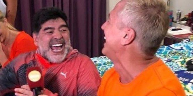 Video: Maradona muestra su imponente mansión de Dubai