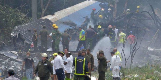 Cayó un Boing 737 de Cubana de Aviación poco después de despegar de La Habana
