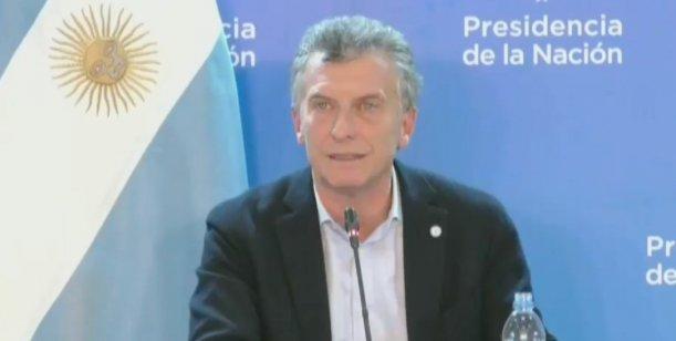 """Macri :""""Yo no voy a aflojar. El Cambio va para delante. Basta de parches y mentiras"""""""
