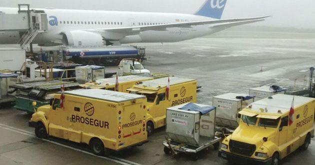 La verdad sobre las fotos de camiones de caudales en el aeropuerto de Ezeiza