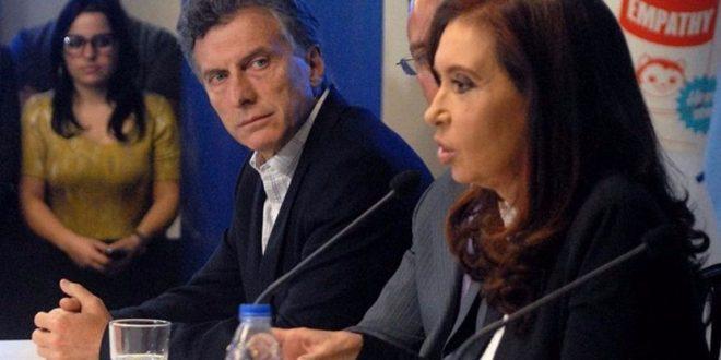 "Cristina Kirchner acusó de ""machirulo"" a Macri"