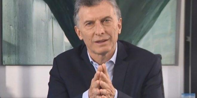 """Macri: """"Vamos a seguir avanzando en la construcción de una Argentina protagonista"""""""