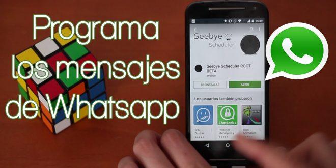 ¿Cómo programar un mensaje de WhatsApp para que se envíe a una hora determinada?
