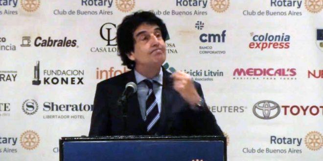 La charla de Carlos Melconian en el Rotary Club que nadie quería contar