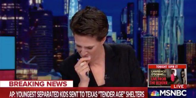 Video: Conductora de noticiero se puso a llorar en vivo al leer que Trump está enjaulando a nenes inmigrantes