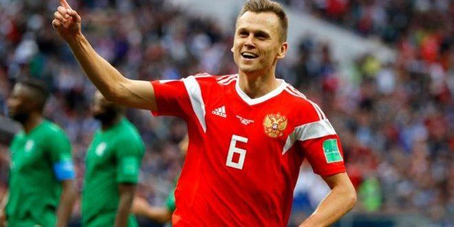 Rusia goleo 5 a 0 a Arabia Saudita en el primer partido del Mundial