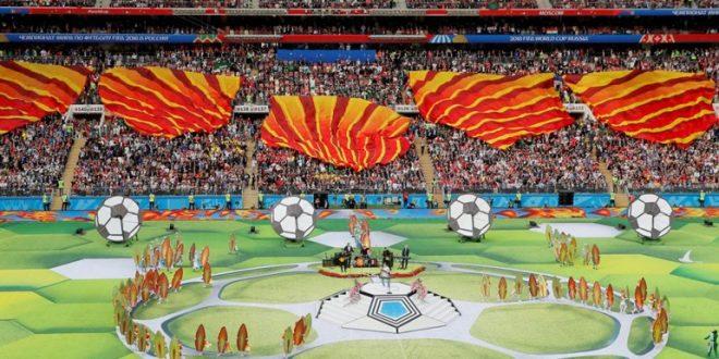 Rusia le gana a Arabia Saudita en el comienzo del Mundial