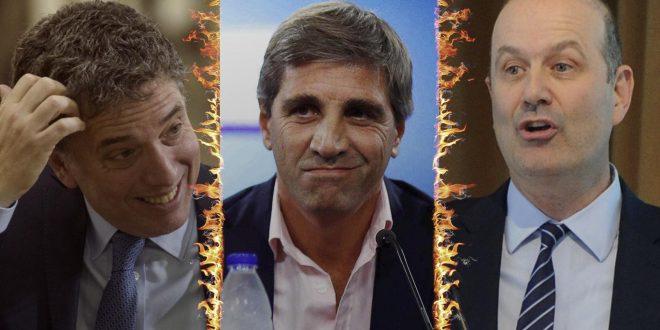 Renunció Sturzenegger y Luis Caputo es el nuevo presidente del Banco Central