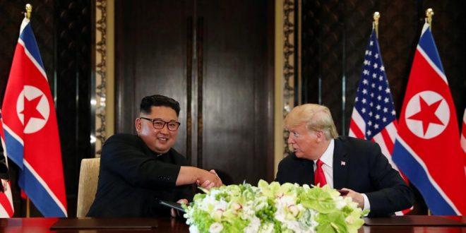Trump y Kim Jong-Un firmaron acuerdo anti nuclear