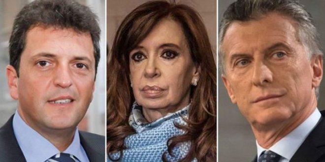 Según una encuesta , Cristina o Massa le ganarían a Macri en primer vuelta