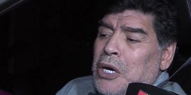 El insólito argumento de Diego Maradona de por qué no puede ver a sus hijas Dalma y Gianinna