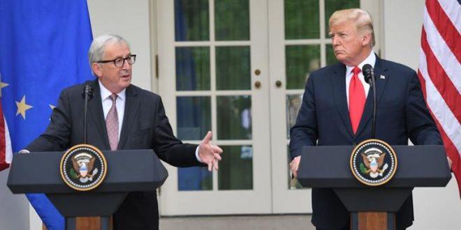 EEUU y la UE desactivan guerra comercial con acuerdo preliminar para bajar aranceles