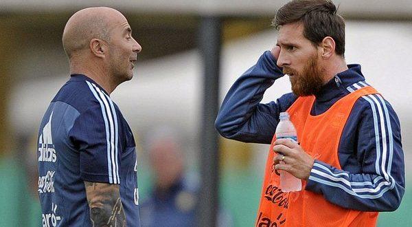 Salió a la luz un duro cruce entre Lionel Messi y Jorge Sampaoli que se dio durante el Mundial de Rusia