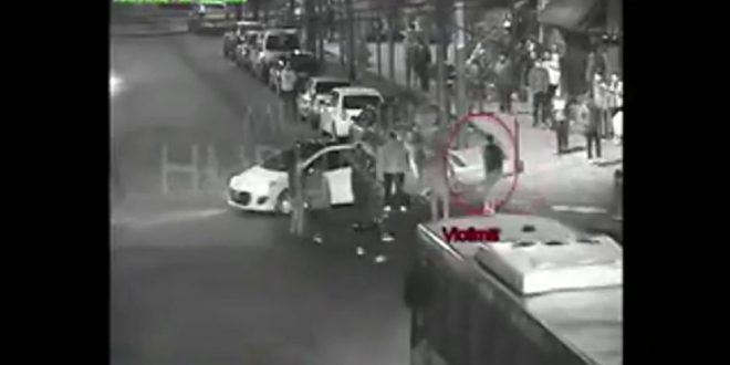 Video: Así Apuñalaron y mataron al exarquero de Almagro, Facundo Espíndola, a la salida de un boliche